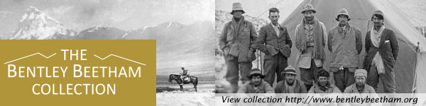 Visit the Bentley Beetham 1924 Everest Expedition image archive website